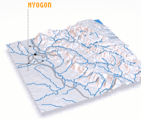 3d view of Myogon