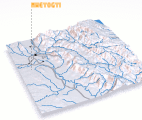 3d view of Mweyogyi