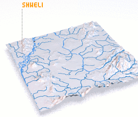3d view of Shweli
