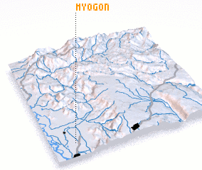 3d view of Myogon