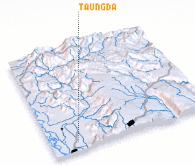 3d view of Taungda