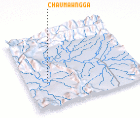 3d view of Chaumawng Ga