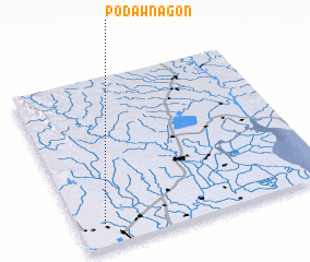 3d view of Podawnagon