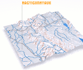 3d view of Magyigon Myauk