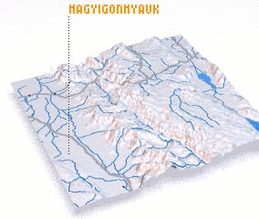 3d view of Magyigon Myauk
