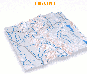 3d view of Thayetpin