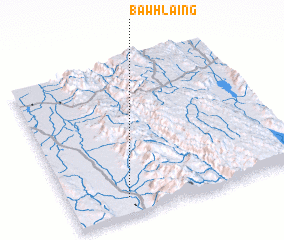 3d view of Bawhlaing