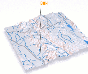 3d view of Baw