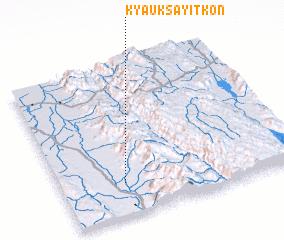 3d view of Kyauksayitkon
