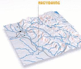 3d view of Magyidaung