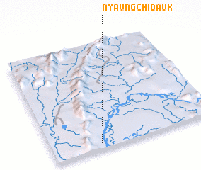 3d view of Nyaungchidauk