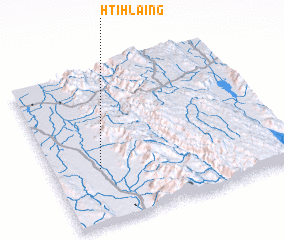3d view of Htihlaing