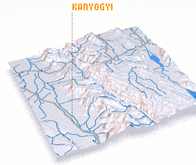 3d view of Kanyogyi