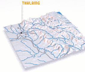3d view of Thalaing