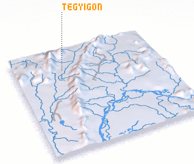 3d view of Tegyigôn
