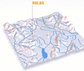 3d view of Malān