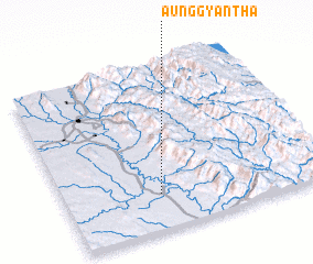 3d view of Aunggyantha