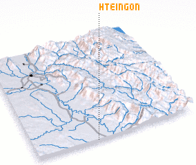 3d view of Hteingon