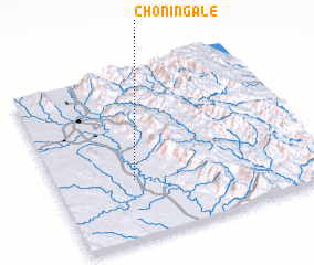 3d view of Chon-ingale