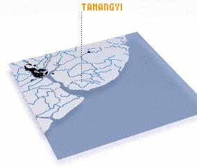 3d view of Tamangyi