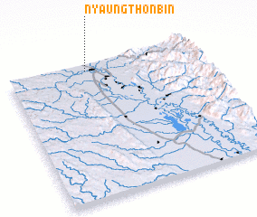 3d view of Nyaungthonbin