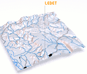 3d view of Ledet