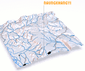 3d view of Naungkhangyi