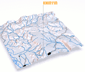 3d view of Khinyin