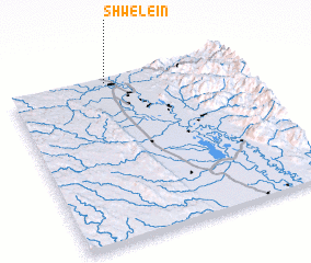 3d view of Shwele-in