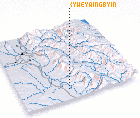 3d view of Kyweyaingbyin