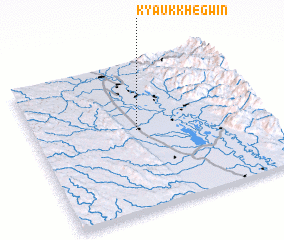 3d view of Kyaukkhegwin