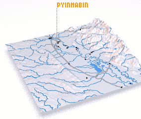 3d view of Pyinmabin