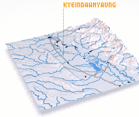 3d view of Kyeindawmyaung