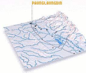 3d view of Paunglaungdin