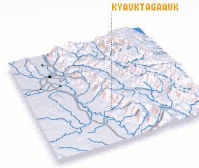 3d view of Kyauktaga Auk