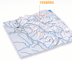 3d view of Yegando
