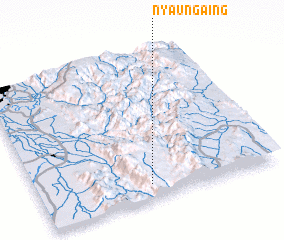 3d view of Nyaung-aing