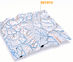 3d view of Maymyo