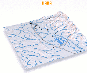 3d view of Kama