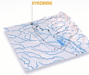 3d view of Kyuzaung