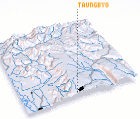 3d view of Taungbyo