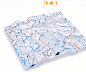 3d view of Tawbin