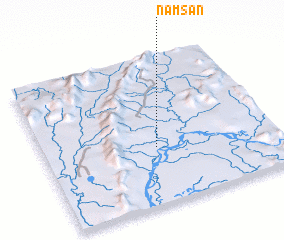 3d view of Namsan