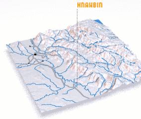 3d view of Hnawbin