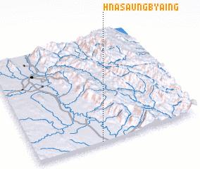 3d view of Hnasaungbyaing