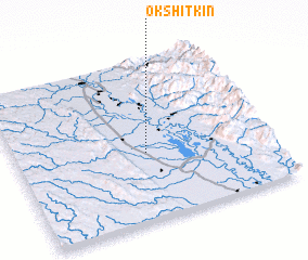 3d view of Okshitkin
