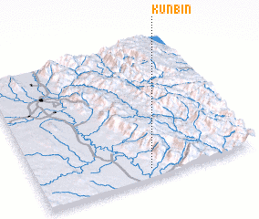 3d view of Kunbin