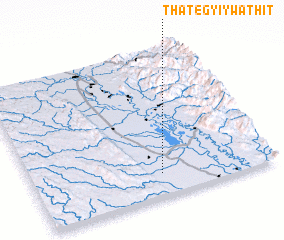 3d view of Thategyi Ywathit