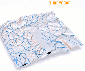 3d view of Thabye-gon