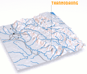 3d view of Thanmodaung
